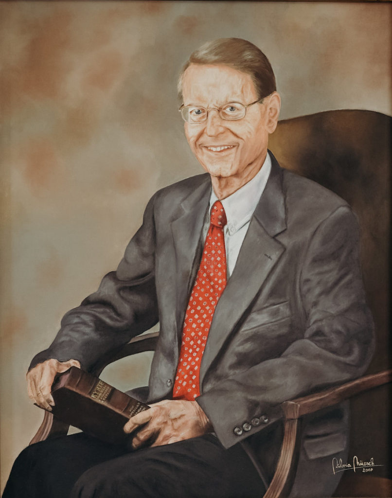 Portrait of Dr. Charles Ryrie